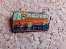 Pin's - AUTOCAR - TRANSPORT  JOSE - Transports