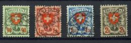 1924 MICHEL 194-197. Used.  (h012) - Switzerland
