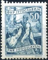 1950 Jugoslavia, Attività Industriale 50d. Nuovo - 1945-1992 Repubblica Socialista Federale Di Jugoslavia