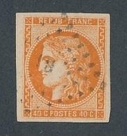 """DK-133: FRANCE: Lot Avec """"BORDEAUX"""" N°48 Obl Signé Brun - 1870 Bordeaux Printing"""