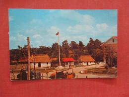 Thatched Roof Houses In Orange Walk Town  British Honduras Ref 3958 - Honduras