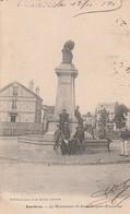 ASNIERES - Le Monument De Jean Jacques ROUSSEAU     Au Verso Cachet Octroi D'Asnieres En 1903 - Asnieres Sur Seine