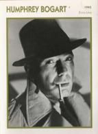 Humphrey BOGART (1941)  - Fiche Portrait Star Cinéma - Filmographie - Photo Collection Edito Service - Photographs