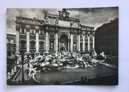 ROMA - FONTANA DI TREVI -VIAGGIATA FG - Fontana Di Trevi