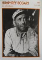 Humphrey BOGART (1951)  - Fiche Portrait Star Cinéma - Filmographie - Photo Collection Edito Service - Photographs