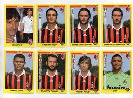 Figurine Calciatori 2009/2010 - MILAN - Lotto Nr. 8 Figurine - Edizione Panini 2010 - (FDC21021) - Panini