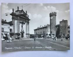 BAGNAIA -PIAZZA XX SETTEMBRE E CASTELLO -VIAGGIATA FG - Viterbo