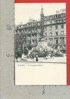CARTOLINA NV BELGIO - BRUXELLES - Le Monument Anspach - 9 X 14 - Monumenti, Edifici