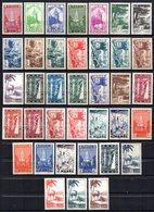 Col17  Colonie Maroc N° 163 à 199 Neuf X MH & XX MNH Cote 38,90 Euros - Morocco (1891-1956)