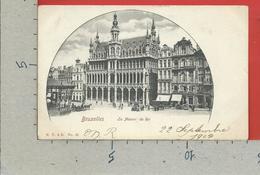 CARTOLINA NV BELGIO - BRUXELLES - La Maison Du Roi - 9 X 14 - Monumenti, Edifici