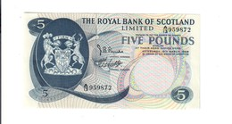 Scozia Scotland 5  Pounds 1969 Spl LOTTO 761 - 5 Pounds