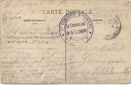 Cachet Militaire : 55 VERDUN . - Postmark Collection (Covers)
