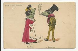 Dressed Animals - Frogs - Animaux Parisiens - La Morue - Le Maquereau - Lucy - Animali Abbigliati