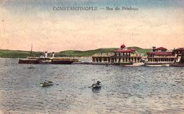 CONSTANTINOPLE : ILES De PRINKIPO - VUE Sur LE DÉBARCADÈRE / THE LANDING PLACE ~ 1920 - '925 (ae424) - Turquie