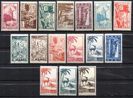 Col17  Colonie Maroc N° 224 à 237 Neuf  XX MNH 227 X MH Cote 17,30 Euros - Morocco (1891-1956)