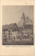 """ANTWERPEN-ANVERS""""LE MARCHE AUX POISSONS AU XIV SIECLE""""EDITIE HERMANS N°71 - Antwerpen"""