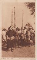 Danseurs Masqués En Haute Volta - Burkina Faso