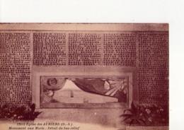 CPA - 79 - 30 -   EGLISE DES AUBIERS - N° 12613 - MONUMENT AUX MORTS - DETAIL DU BAS RELIEF - - Autres Communes