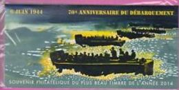 Souvenir Philatélique  06 Juin 1944  70 è Anniversaire Du Débarquement   Sous Blister - Blocs Souvenir