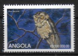 ANGOLA  N°  1259  * *  Oiseaux Hiboux Petit Duc - Owls
