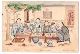 Chine- Illustrateur-Chacun à Ses Pièces- Guten Appetit! In Good Carnest,no 25-Ateliers S.Joseph,Chefoo - Chine