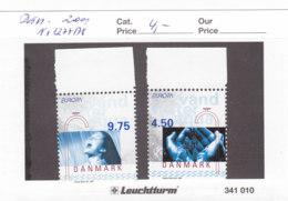 Dänemark 2001 Nr. 1277 - 1278 Europa Lebensspender Wasser Postfrisch ** Mnh - Danimarca