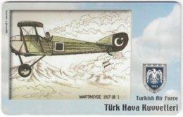 TURKEY C-313 Chip Telekom - Painting, Military, Historic Aircraft - Used - Türkei