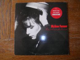 "33 Tours 30 Cm - MYLENE FARMER   - POLYDOR 831732  "" CENDRE DE LUNE "" + 9 ( Avec STIKERS ) - Vinyl-Schallplatten"