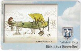 TURKEY C-315 Chip Telekom - Painting, Military, Historic Aircraft - Used - Türkei