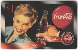 USA C-694 Prepaid Sprint - Historic Advertising, Drink, Coca Cola - MINT - United States