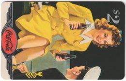 USA C-711 Prepaid Sprint - Historic Advertising, Drink, Coca Cola - Used - United States