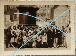 Photo LIEGE Groupe étudiants ULg Abri Antiaérien Occupation Guerre 1940-45 - Lieux