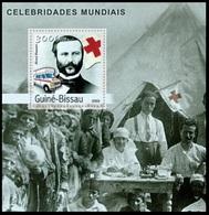 Guinea Bissau 2003 MNH MS, Henry Dunant, Red Cross, Ambulance, Medical Camp - Henry Dunant