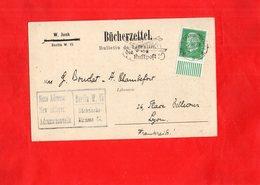G0104 - Bücherzettel - Allemagne - Carte Commande - Buch