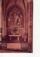 CPA - 79 - 34 -   EGLISE DES AUBIERS - N° 12612 - MONUMENT AUX MORTS - LA PEINTURE MURALE ET L'AUTEL - - Autres Communes