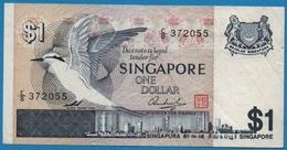 SINGAPORE 1 Dollar ND (1976)# C/8 372055  P#   9 - Singapore