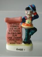 Fève Gage - Tu Dois Fermer Les Yeux... - T'es Pas Chiche ! 2005 - Fèves