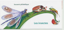 Souvenir Philatélique   Les Insectes - Blocs Souvenir