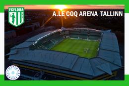 CP. STADE.   TALLIN   ESTONIE  A LE COQ ARENA    # CS. 515 - Football