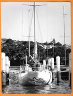 HOMME - VOILIER - BARCA - SAIL BOAT - BARCA A VELA - ROBERT BRENAC - PHOTO PRESS CM. 18,5X24,5 - Barche