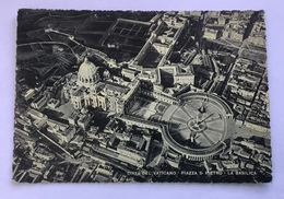 CITTA DEL VATICANO - PIAZZA S.PIETRO LA BASILICA- NV FG - Vatican