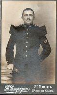 CDV Guerre 14/18 Photo. Infanterie 25e. Photo H.Compagnon Paris - Guerra, Militari