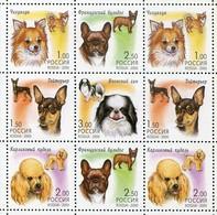Russland Mi# 837-41 + 571-5 Postfrisch/MNH - Fauna Dogs - Unused Stamps