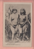 OLD POSTCARD - ETHNIC NUDE WOMAN - - TYPE - ARGENTINA - INDIOS  DEL CHACO - Ethnic Nudes