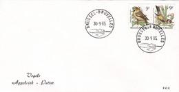 Enveloppe Cover Brief FDC 2189 2190 Oiseau Buzin Vogels Appelvink Putter - FDC