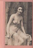 OLD POSTCARD -  NUDE WOMAN -  ED. JB 17 - Fine Nudes (adults < 1960)