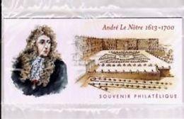 Souvenir Philatélique   André Le Nôtre       Sous Blister - Blocs Souvenir