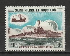 SAINT PIERRE ET MIQUELON 1971 YT N° 412 * - Nuovi