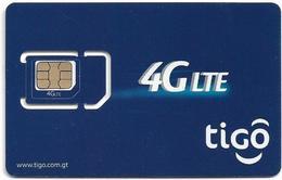 Guatemala - Tigo - 4G Lte, Blue, GSM SIM5 Mni-Micro, Mint - Guatemala