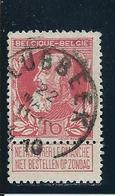 OCB 74 - Afstempeling LUBBEEK Type 1L - COBA 8 - 1905 Breiter Bart